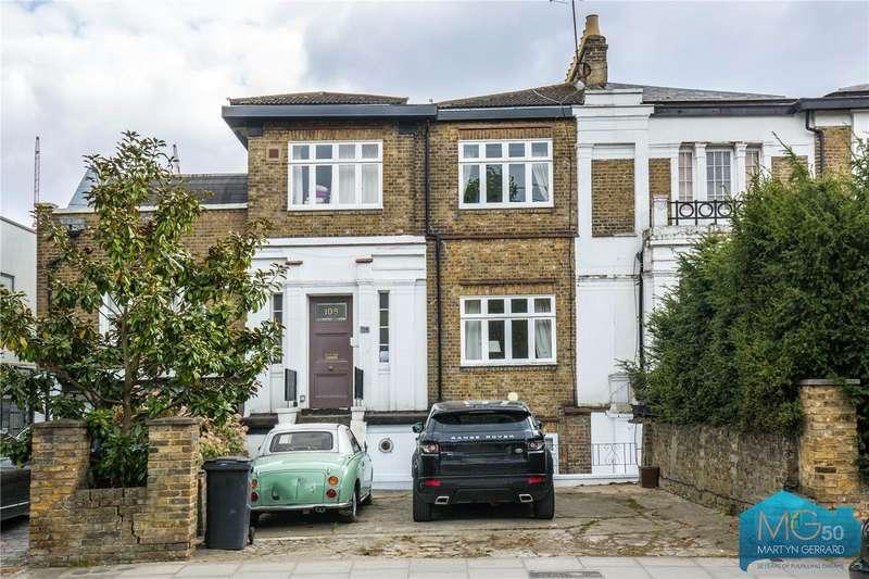 3 Bedrooms Maisonette Flat for sale in Tollington Park, Stroud Green, London, N4