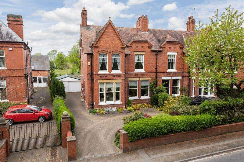 5 Bedrooms Unique Property for sale in Gawsworth House, Wellington Road, Nantwich