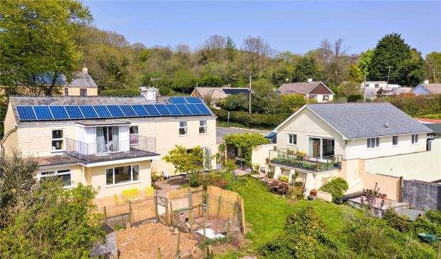 4 Bedrooms Detached House for sale in Harrowbarrow, Callington, Cornwall