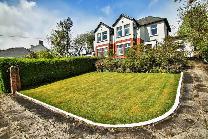 5 Bedrooms Detached House for sale in Cilsanws, Cefn Coed, Merthyr Tydfil