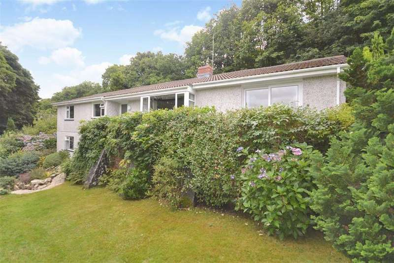 4 Bedrooms Detached House for sale in Snappers Lane, Coombe, St Austell, Cornwall, PL26