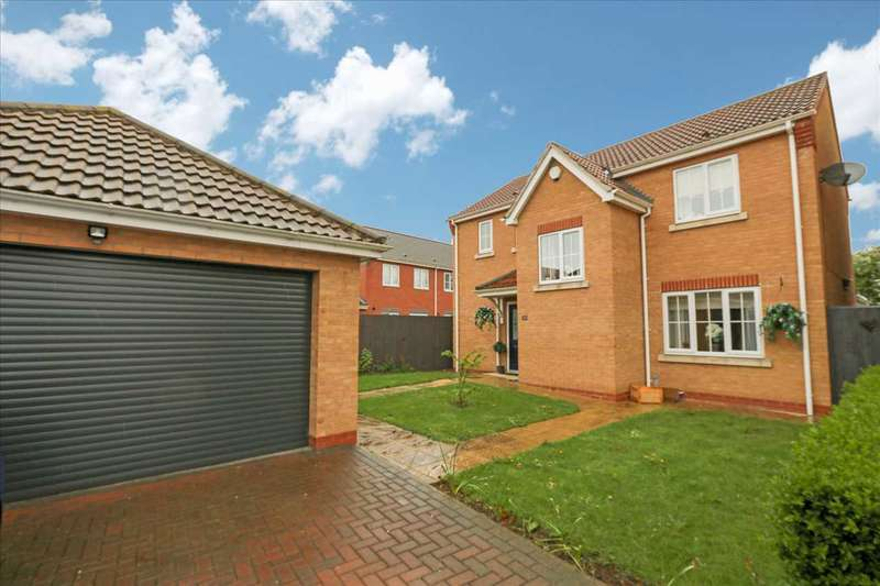 4 Bedrooms Detached House for sale in Jubilee Close, Cherry Willingham, Lincoln