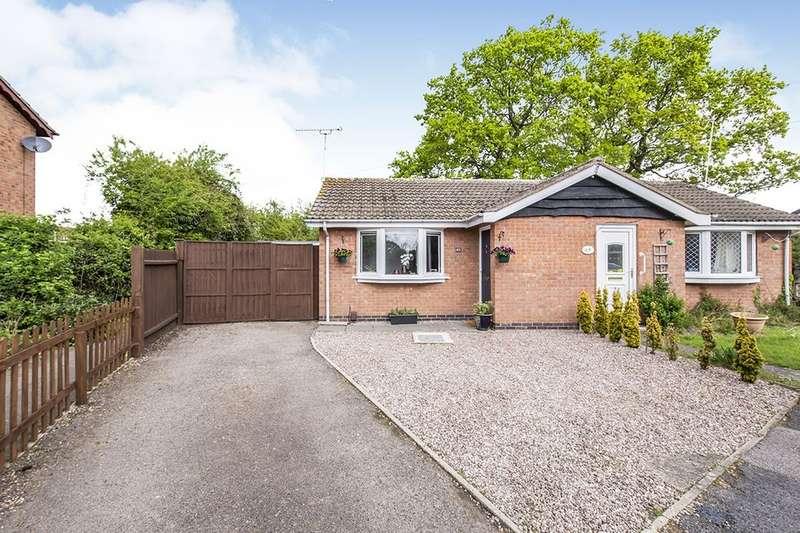 1 Bedroom Semi Detached Bungalow for sale in Bosworth Close, Hinckley, LE10