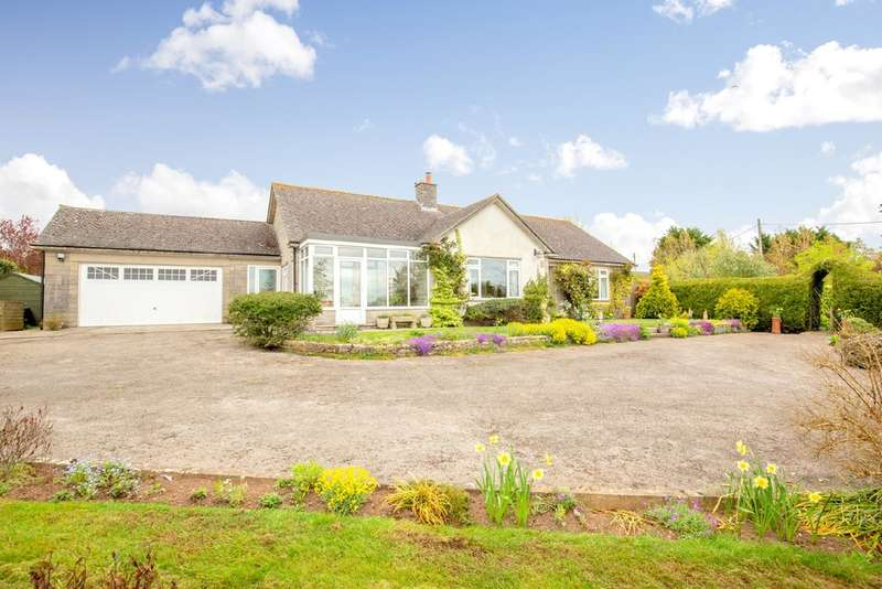 3 Bedrooms Detached Bungalow for sale in Pylle - Rural location with lovely views