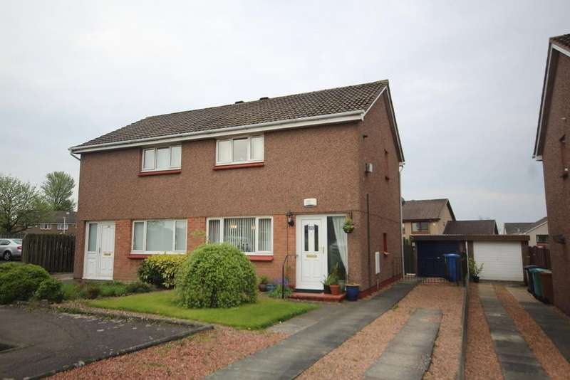 2 Bedrooms Semi Detached House for sale in Carradale Gardens, Kirkcaldy , Fife, KY2