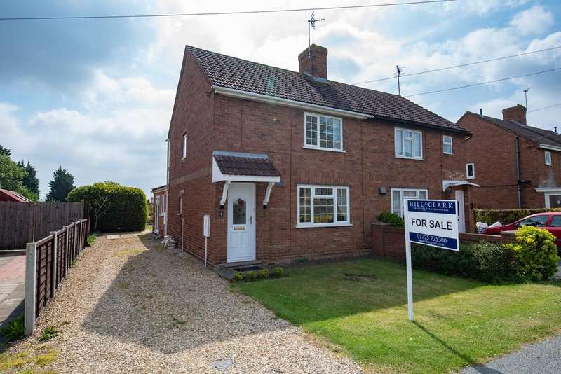3 Bedrooms Semi Detached House for sale in Oldham Drive, Pinchbeck, Spalding, PE11