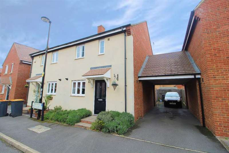 3 Bedrooms Semi Detached House for sale in Swan Road, Wixams, Bedfordshire, MK42