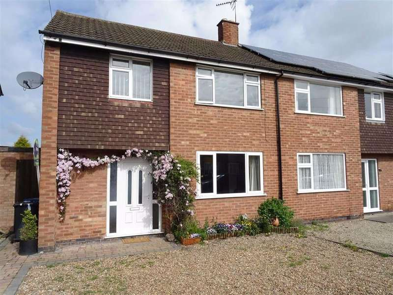 3 Bedrooms Semi Detached House for sale in Mayfield Way, Barwell