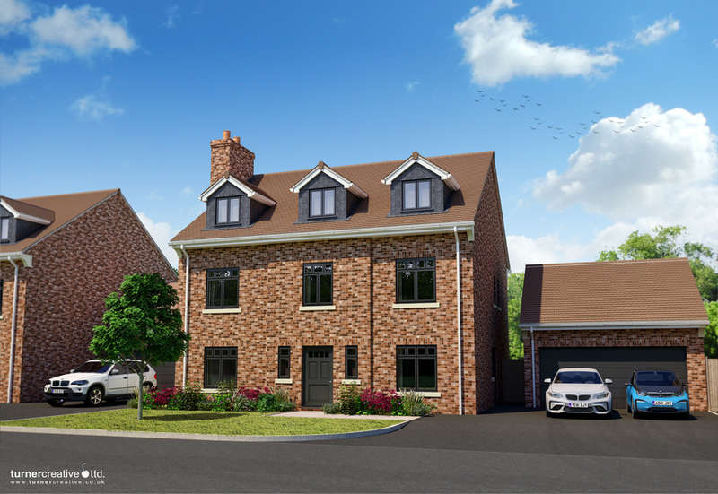 5 Bedrooms Detached House for sale in The Engine House, Devon Belle, 2 Green Lane, Studley, B80 7EY