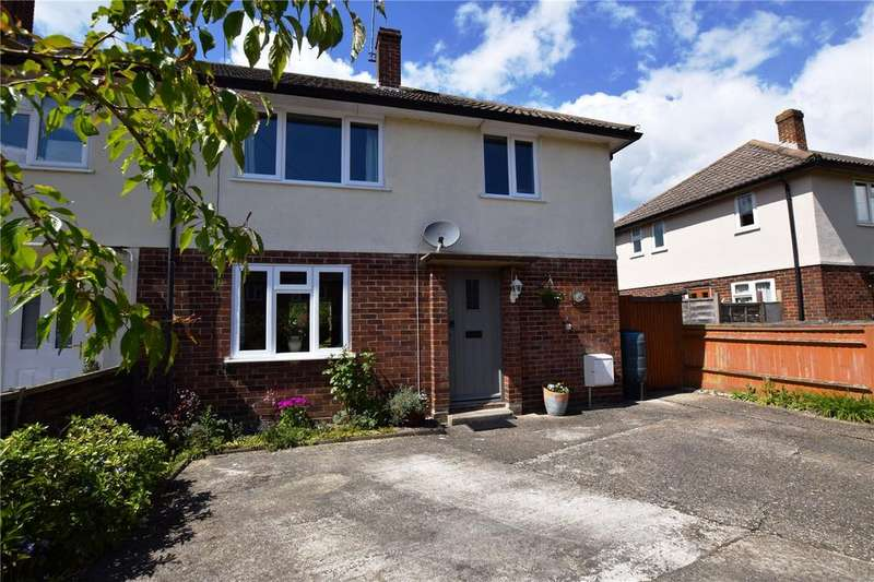 3 Bedrooms End Of Terrace House for sale in Normoor Road, Burghfield Common, Reading, Berkshire, RG7