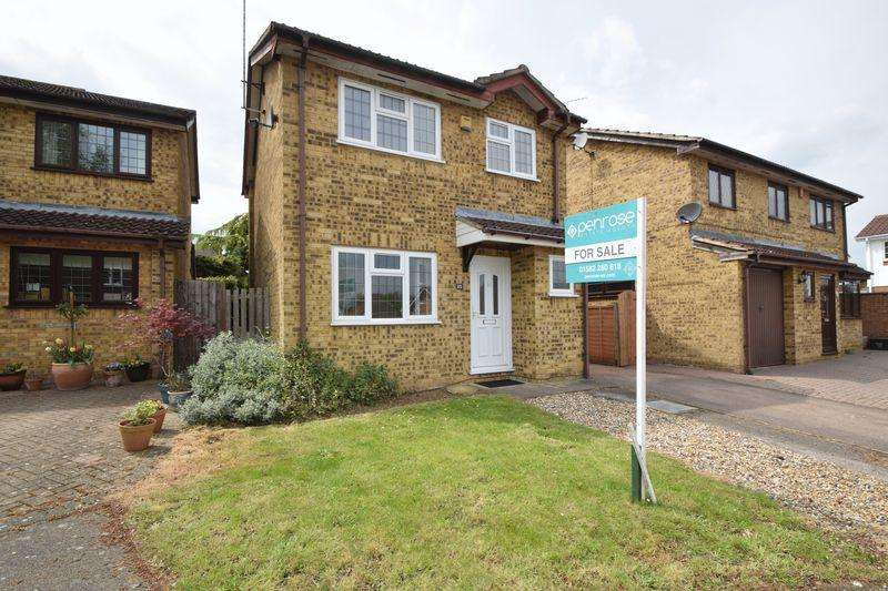 3 Bedrooms Detached House for sale in Albury Close, Luton