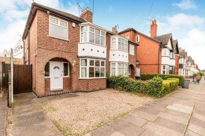 3 Bedrooms Semi Detached House for sale in Belvoir Drive, Aylestone, Leicester, Leicestershire