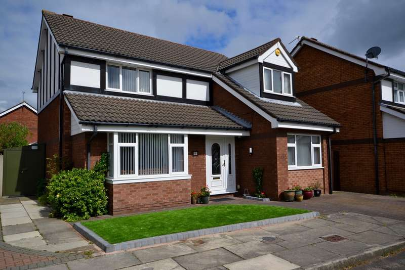 4 Bedrooms Detached House for sale in Maunders Court, Crosby, Liverpool, L23