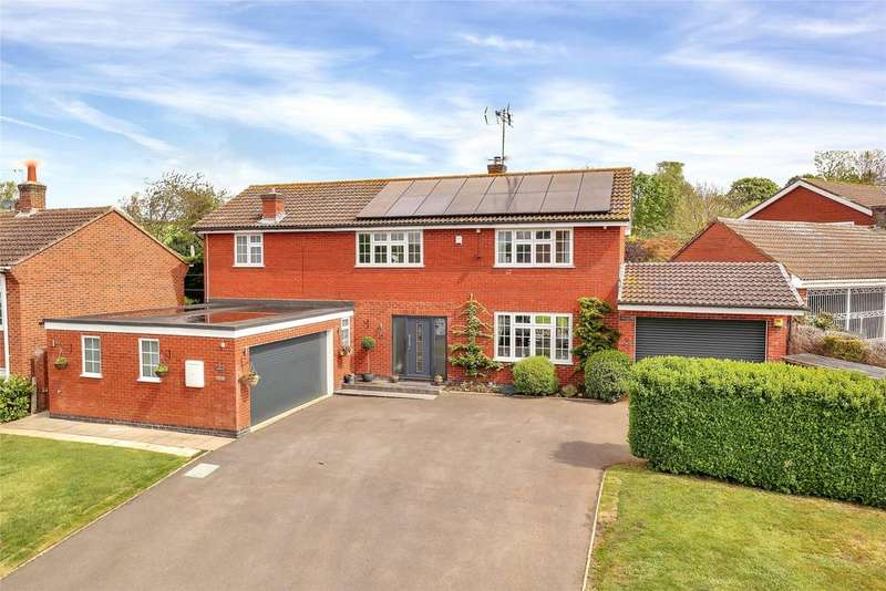 4 Bedrooms Detached House for sale in School Lane, South Croxton, Leicester