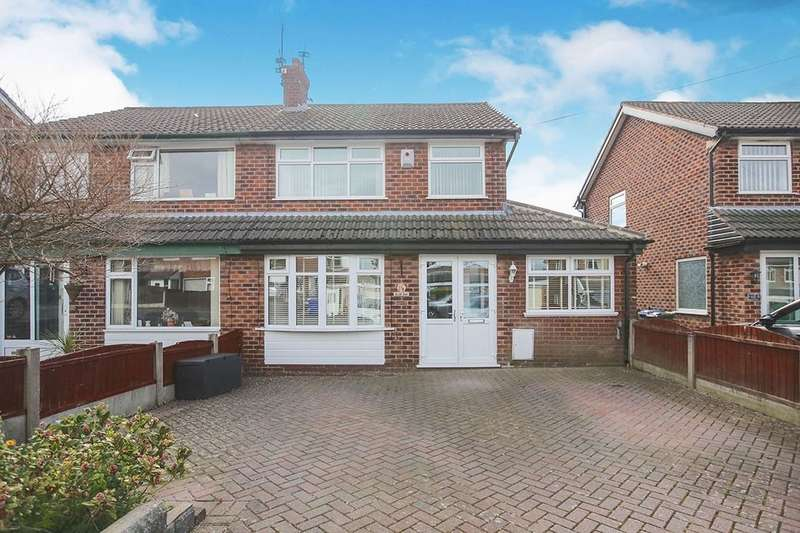 3 Bedrooms Semi Detached House for sale in Hillary Road, Hyde, SK14