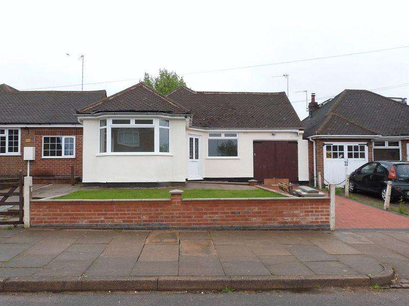 3 Bedrooms Detached Bungalow for sale in Verdale Avenue, Leicester