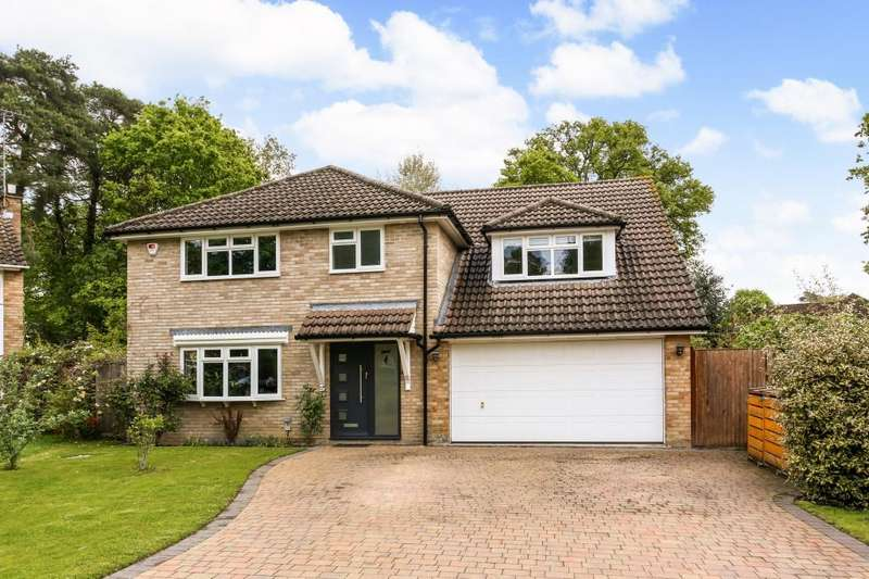 5 Bedrooms Detached House for sale in Oaklands Drive, Ascot