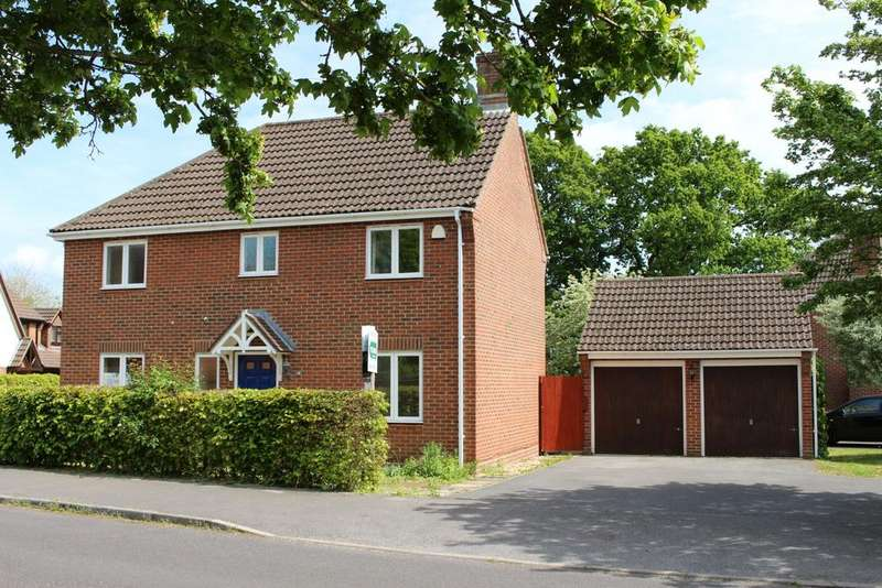 4 Bedrooms Detached House for sale in CREECH VIEW, DENMEAD