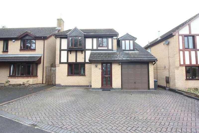 4 Bedrooms Detached House for sale in Falconers Green, Burbage
