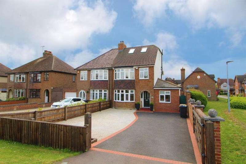 4 Bedrooms Semi Detached House for sale in Ridge Road, Kempston Rural, Bedfordshire, MK42