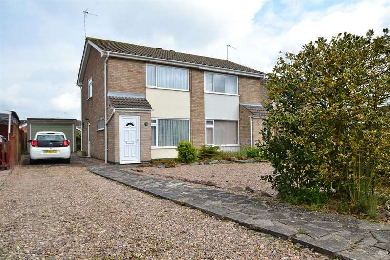 2 Bedrooms Semi Detached House for sale in Raynham Drive, Loughborough, Leicestershire