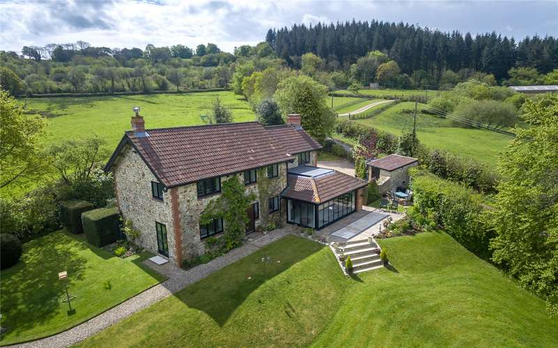 4 Bedrooms Detached House for sale in Corfe, Taunton, Somerset, TA3
