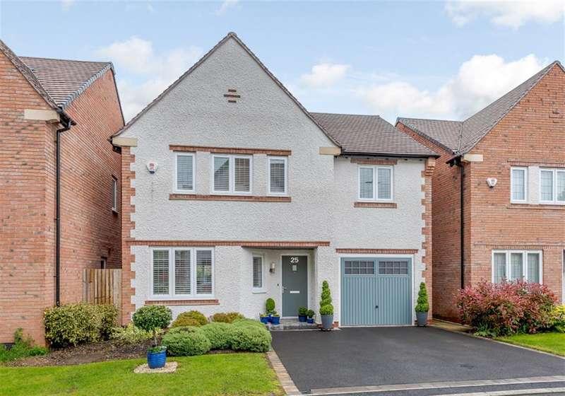 4 Bedrooms Detached House for sale in Thomas De Beauchamp Lane, Sutton Coldfield, B73 6DF