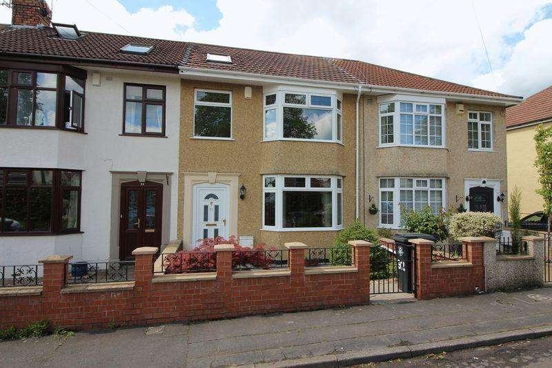 4 Bedrooms Terraced House for sale in Kingsway, St George, Bristol
