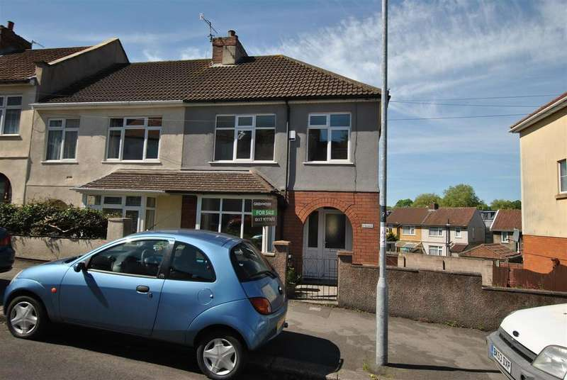 3 Bedrooms End Of Terrace House for sale in Ravenhill Road, Lower Knowle, Bristol