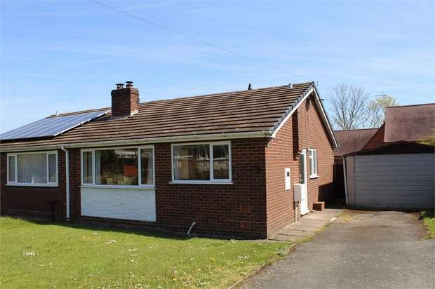 2 Bedrooms Semi Detached Bungalow for sale in Claybrooke Magna