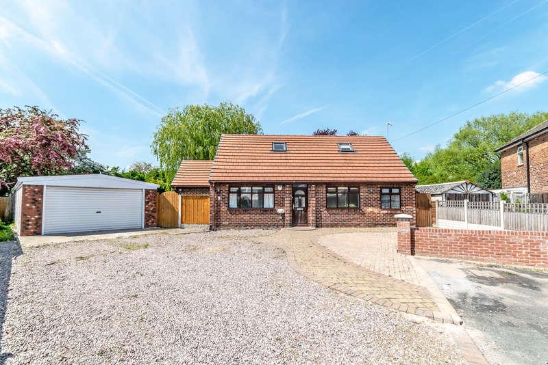 5 Bedrooms Detached Bungalow for sale in Delery Drive, Padgate, Warrington
