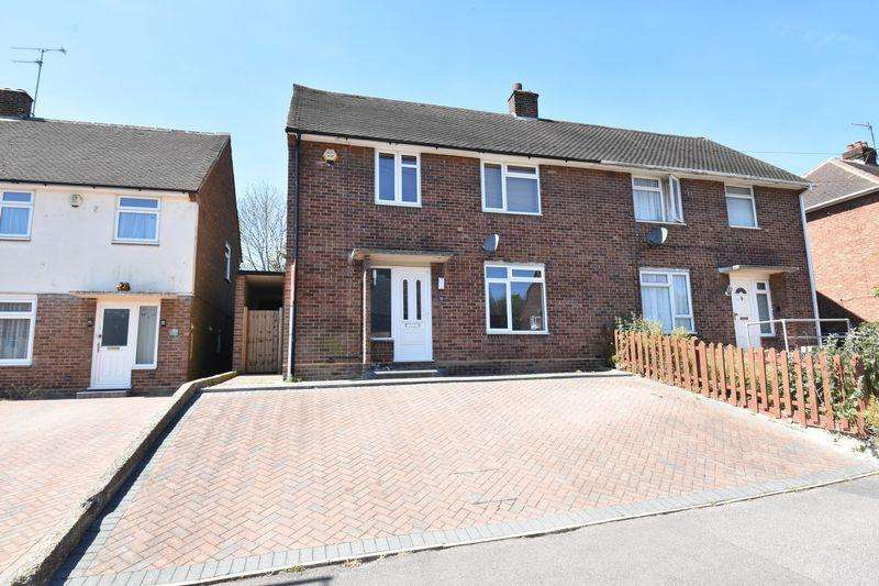 3 Bedrooms Semi Detached House for sale in Eaton Valley Road, Luton