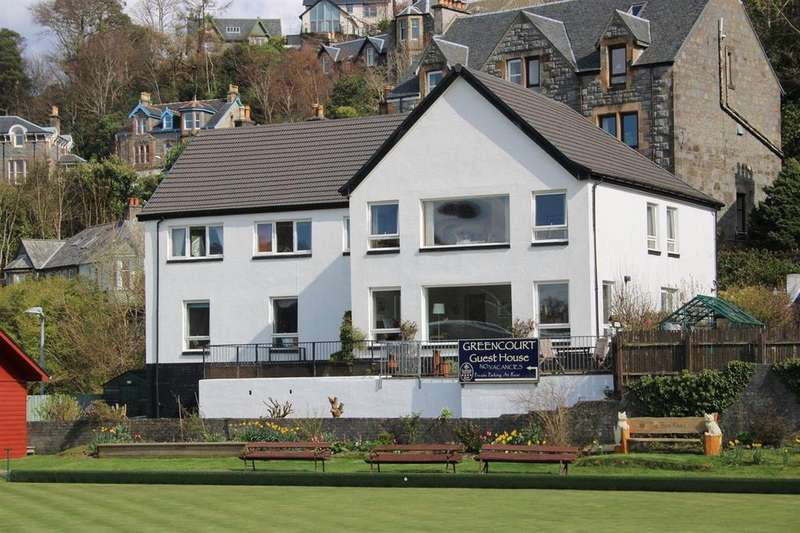 10 Bedrooms Guest House Commercial for sale in Greencourt Guest House, Benvoullin Road, Oban, PA34 5EF