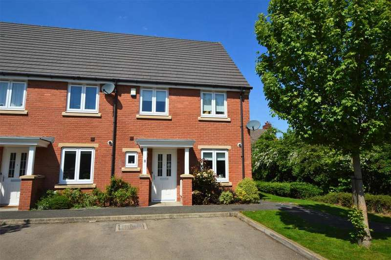 3 Bedrooms Town House for sale in Graham Perkins Close, Shepshed, Loughborough