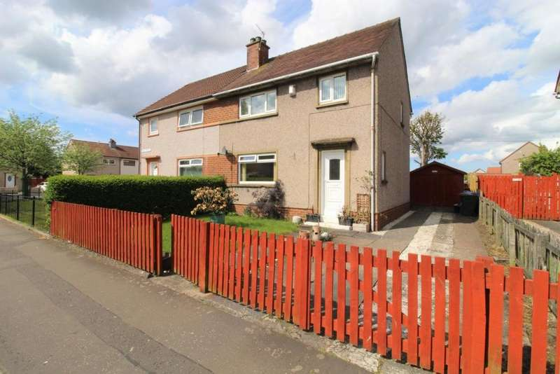 3 Bedrooms Semi Detached House for sale in Bruce Terrace, Irvine, KA12