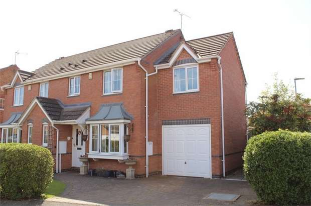 5 Bedrooms Semi Detached House for sale in Lutterworth
