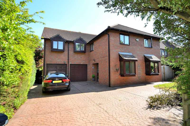 5 Bedrooms Detached House for sale in Aldrich Drive, Willen