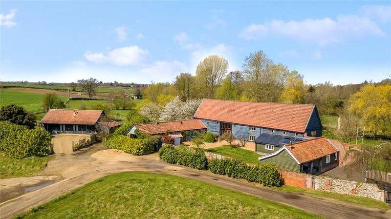 5 Bedrooms Detached House for sale in Marlesford, Nr Woodbridge, Suffolk, IP13