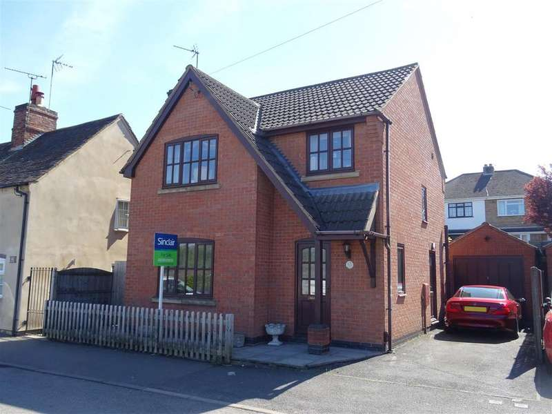 3 Bedrooms Detached House for sale in North Street, Whitwick, Leicestershire