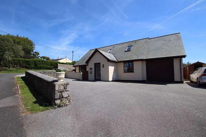4 Bedrooms Detached House for sale in Pengersick Lane, Praa Sands, Penzance