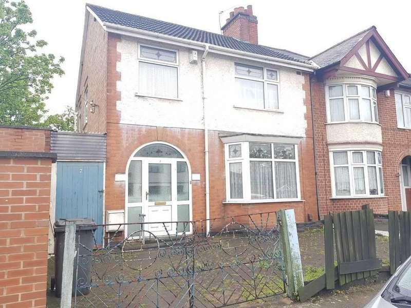 3 Bedrooms Semi Detached House for sale in Bradbourne Road, Evington