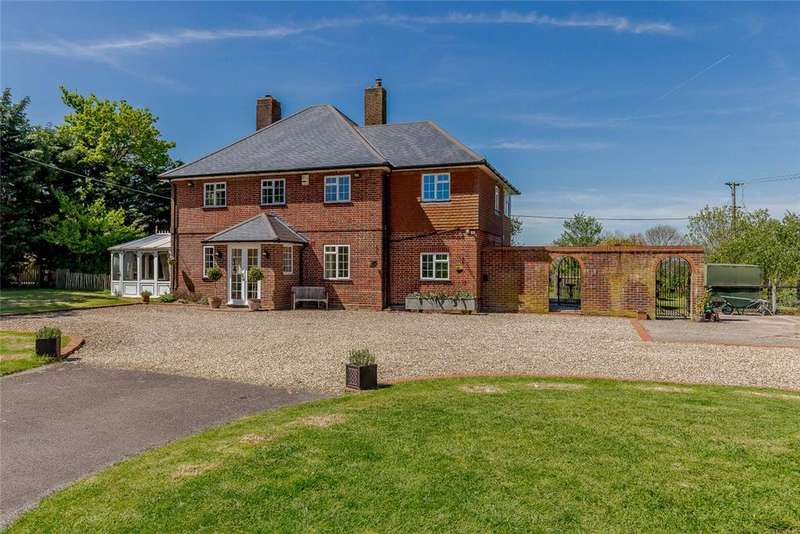 4 Bedrooms Detached House for sale in Knowl Hill, Kingsclere, Newbury, Hampshire, RG20