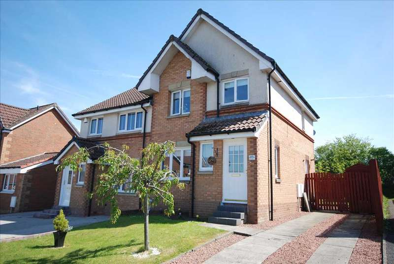 3 Bedrooms Semi Detached House for sale in Darmule Drive, Kilwinning
