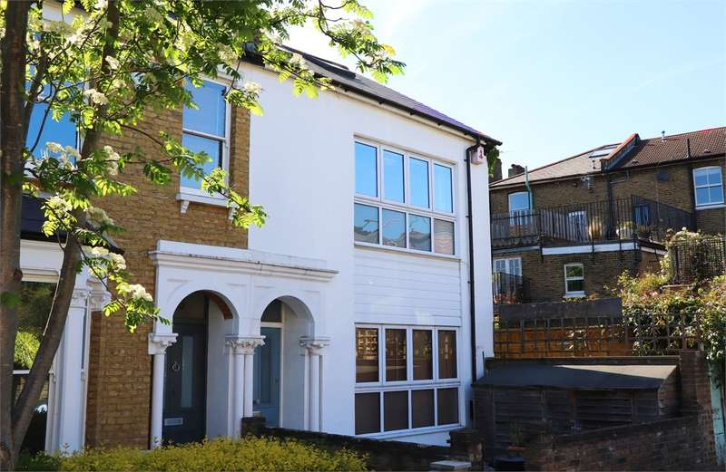 4 Bedrooms End Of Terrace House for sale in Trinder Road, Crouch End Borders, London