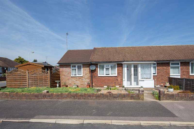 2 Bedrooms Terraced Bungalow for sale in Wimple Road, Luton, Bedfordshire