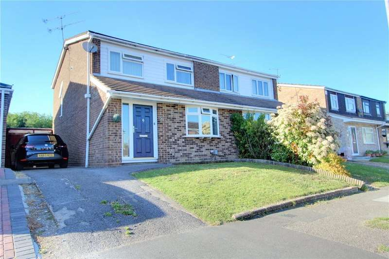 3 Bedrooms Semi Detached House for sale in Cypress Road, Woodley, Reading, Berkshire, RG5