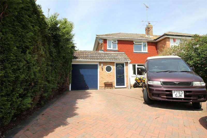 3 Bedrooms Semi Detached House for sale in Cottesmore Road, Woodley, Reading, Berkshire, RG5
