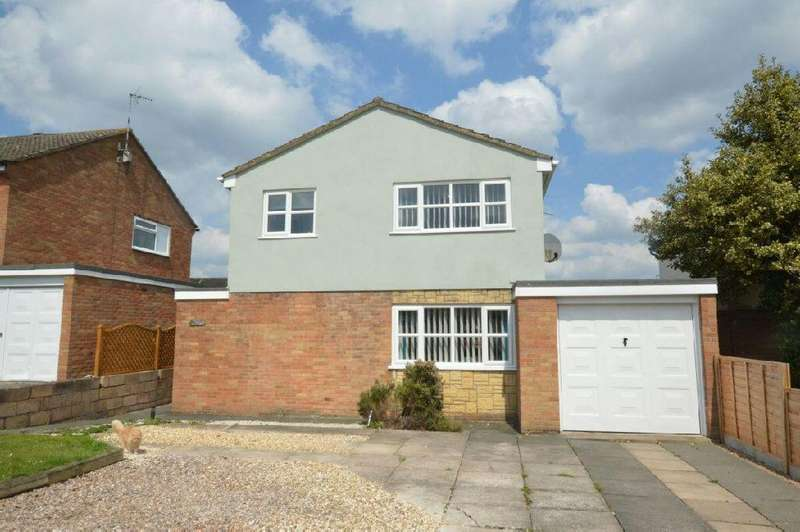 3 Bedrooms Detached House for sale in Skye Way, Countesthorpe, Leicester