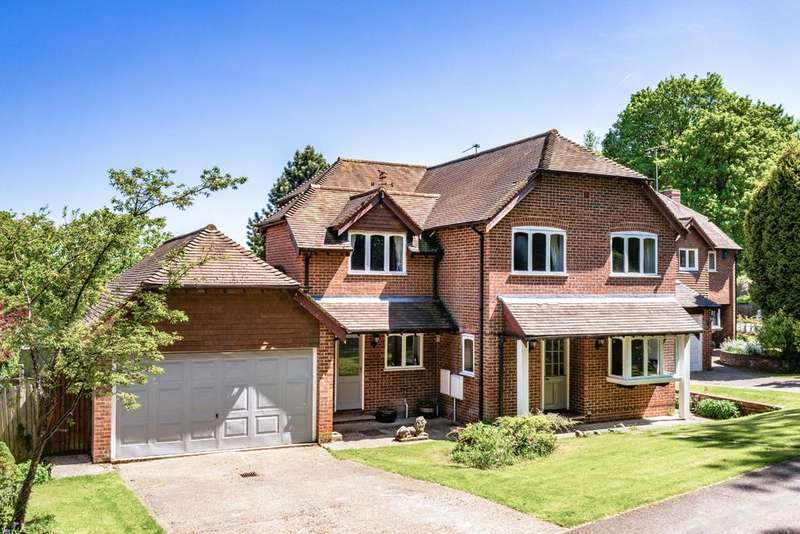 5 Bedrooms Detached House for sale in 1 Hill Gardens, Streatley on Thames, RG8