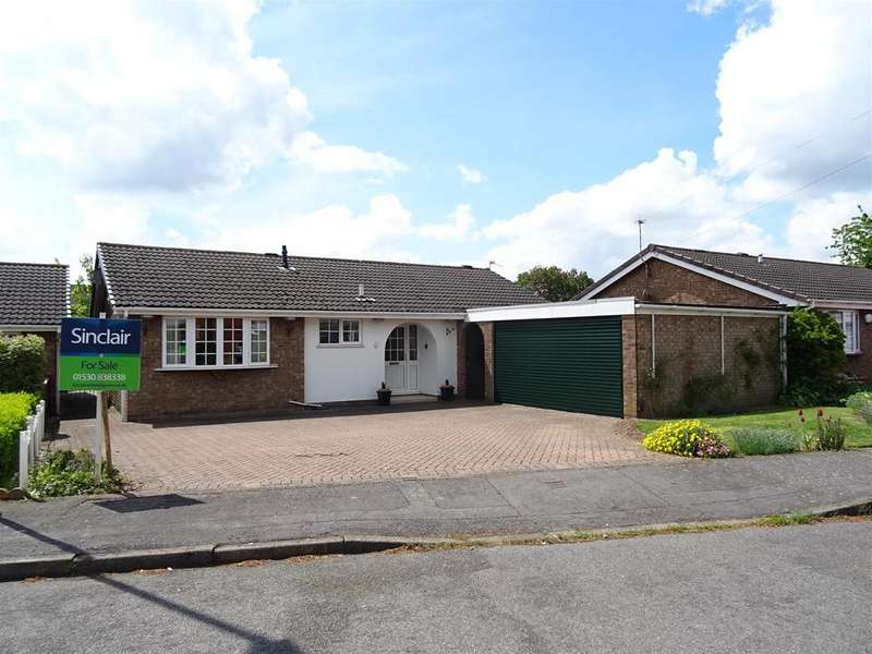 3 Bedrooms Detached Bungalow for sale in Chestnut Close, Ibstock, Leicestershire